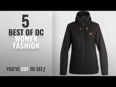 Dc Women Fashion [2018 Best Sellers]: DC Delinquent Women's Skiing Snowboard Jacket - Black Small
