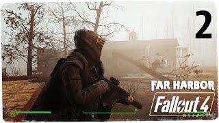 Поход в пионер-лагерь  Fallout 4 Far Harbor  Выживание Моды