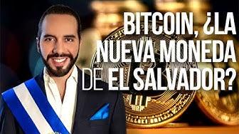 Imagen del video: Bitcoin, moneda de curso legal en El Salvador