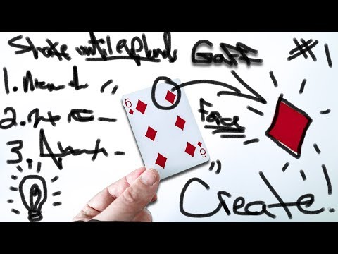 How to CREATE Your own MAGIC Tricks!!