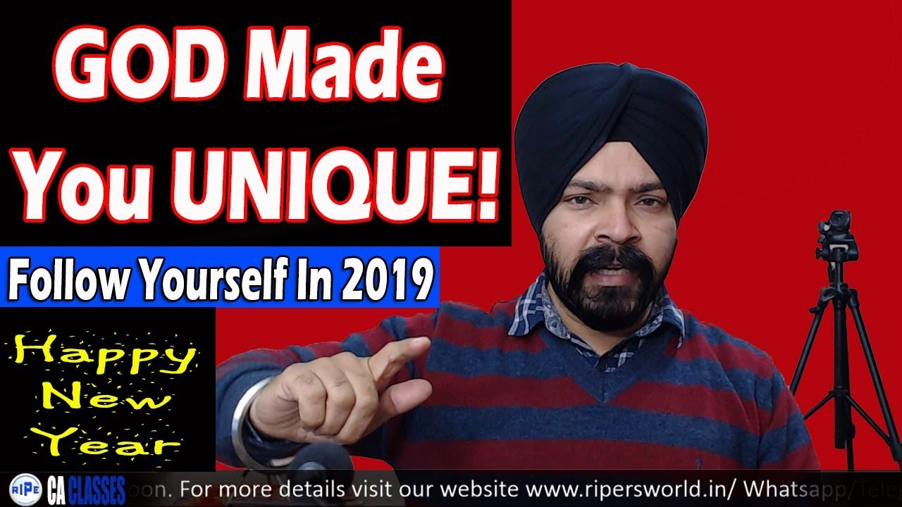 Be A Leader Not Just Follower Find Your Uniqueness Taranjit