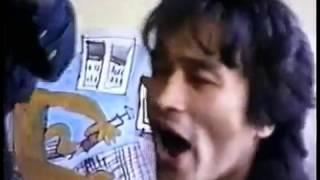 Редкое видео из архива .Виктор Цой и группа КинО репетиция у Густава,май 1987