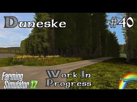 Tree Placement | Farming Simulator 17 | Duneske (WIP Irish Map) Ep 40