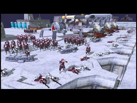 Republic Rhen Var Military Fortress - Men Of War: Star Wars Mod Battle Simulator