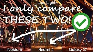 Nokia 6 VS Redmi 4 VS Galaxy S7 Camera Test - 100 Photo & Video Samples