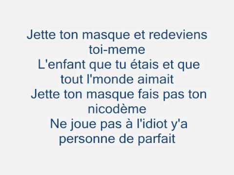 Jette ton masque(Elaine Goyer.wmv