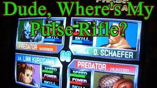 Alien vs Predator Pandoras  Box 400 in 1 Arcade Gameplay