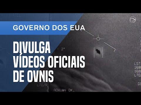 PENTÁGONO DIVULGA VÍDEOS OFICIAIS DE OVNIS