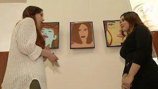 В Астрахани состоялась выставка молодой казахстанской художницы