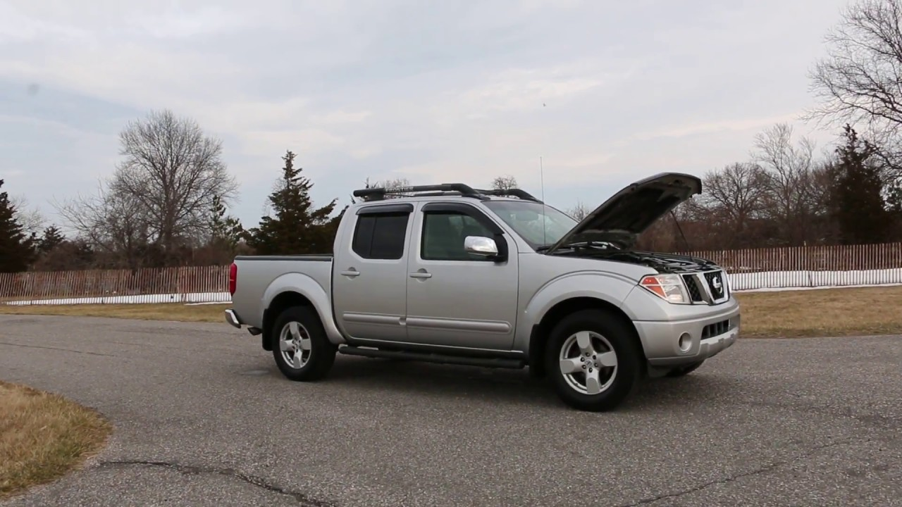 2007 nissan frontier le 4x4 crew cab for sale runs fantastic priced 2 sell youtube. Black Bedroom Furniture Sets. Home Design Ideas