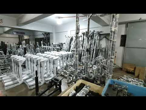 Delivery Gym Equipment Preparation
