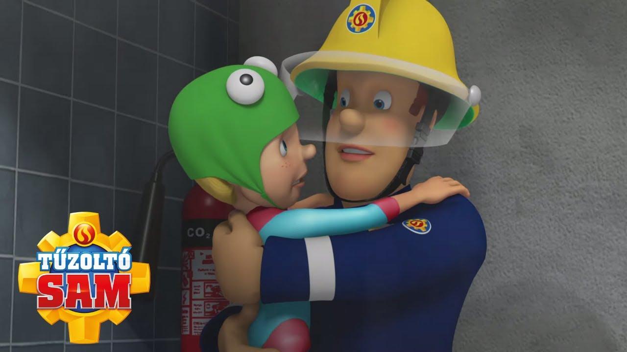 Tűzoltó Sam   A tűzoltó Sam elindul!   összeállítás   Rajzfilmek gyerekeknek