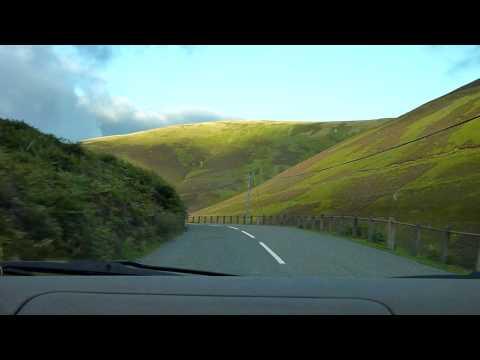 Wanlockhead:Uphill Drive