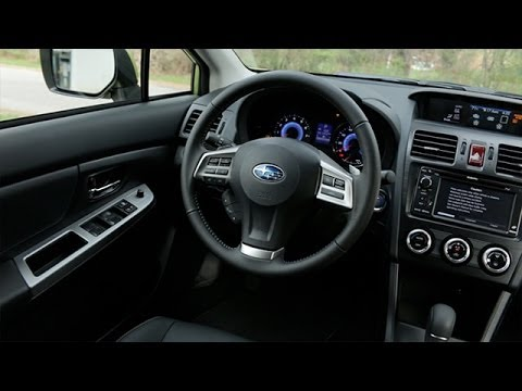 Subaru Xv Crosstrek Hybrid Interior Review
