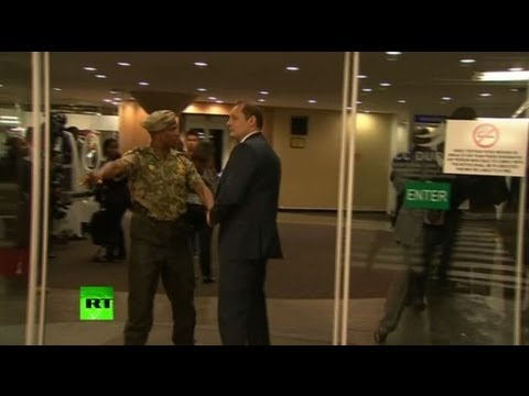 Bodyguard face-off video: Putins, S. African security scuffle at BRICS summit