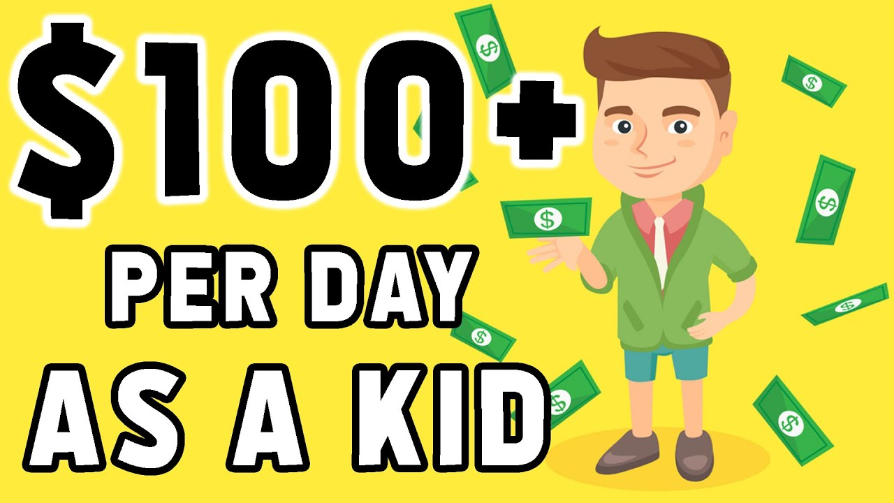 How To Make Money Online For FREE As a Kid Or Teenager (MUST SEE!)