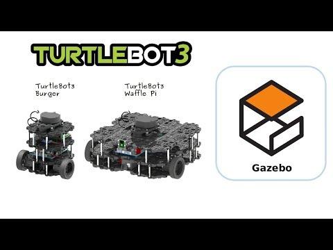 TurtleBot3 37 Gazebo Simulation Tutorial - YouTube