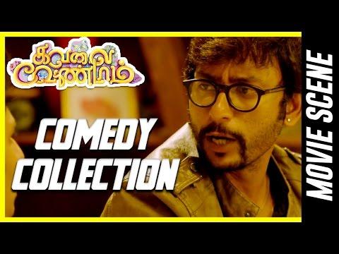 Kavalai Vendam - Comedy Compilations | Jiiva |  Kajal Aggarwal |  Bobby Simha |  Sunaina |