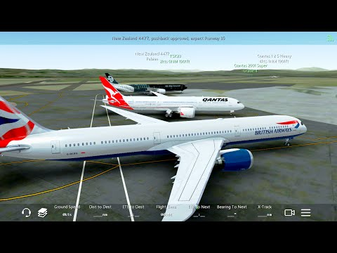 Infinite Flight NEW Boeing 787-10.ATC.Multiplayer. Australia