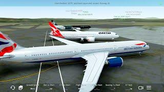 Infinite Flight NEW Boeing 787-10.ATC.Multiplayer. Australia