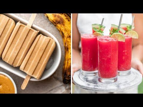 Vegan Treats to Beat the Heat ☀️(4 Ingredients!)