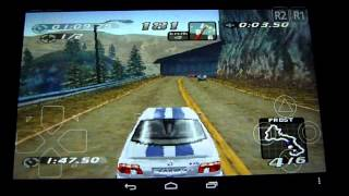 Need For Speed 4 Road Challenge - High Stakes for Android PSX Tegra NOTE 7