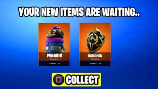 COMMENT À UNLOCK SECRET PENGUIN - INSIGNIA BACKBLING! FORTNITE SECRET BACKBLING FORTNITE BATTLE ROYALE