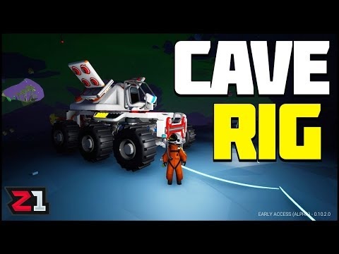 Building Our CAVE ROVER ! Astroneer Update 10 Gameplay | Z1 Gaming