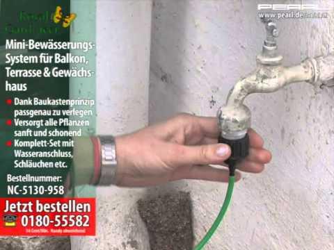 Pflanzen Bewasserungs System Fur Balkon Terrasse Und Gewachshaus