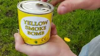 Yellow Smoke Bomb {ARK-O} Ultras-Europe.com