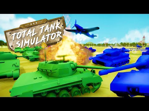 THE UNBEATABLE TANK FORMATION VS THE IMPOSSIBLE CHALLENGE! - Total Tank Simulator Demo 4 Gameplay