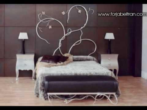 Dormitorios de lujo nuevas colecciones en camas de forja - Dormitorios de forja modernos ...