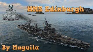 World of Warships en Español//HMS Edinburgh...Poco cañon para su TIER