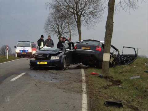 Audi RS6 Crash