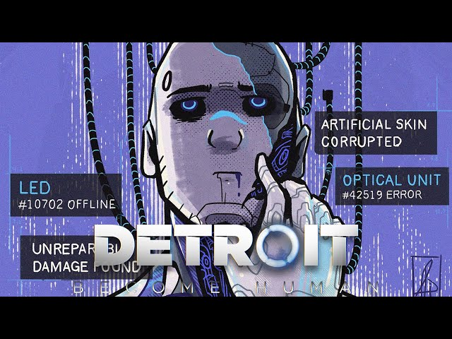 The Prototype  - Reverse AU [Reed900]   Detroit: Become Human Comic Dub