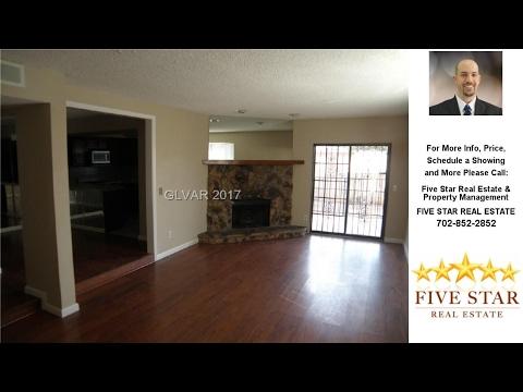 3394 MILENKO Drive, Las Vegas, NV Presented by Five Star Real Estate & Property Management.