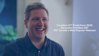 Join IDC Canadian 2020 Predictions Webcast