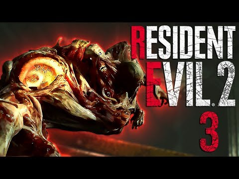 WHY WON'T YOU DIE?! | Resident Evil 2 - Part 3
