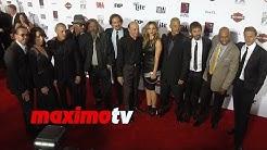 Charlie Hunnam, Lea Michele, Marilyn Manson SONS OF ANARCHY Season 7 Premiere