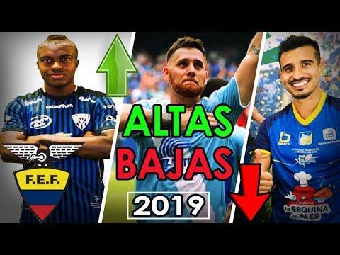 😱TRASPASOS Fútbol Ecuatoriano 2019 | Galería del Gol