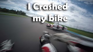 I Crashed my bike | This is Racing | EYBIS.com