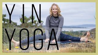 60 min Yoga for Highly Sensitive People Overstimulation | Yin Yoga for Urinary Bladder Meridian-489