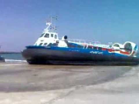 Hovercrafts at Ryde, Isle of Wight