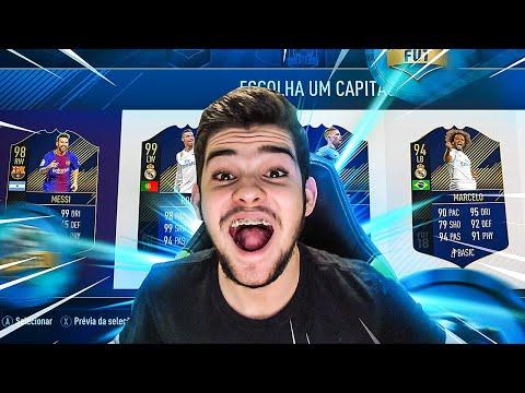 DRAFT ÉPICO!!! MEU MELHOR FUT DRAFT NO FIFA 18!!!