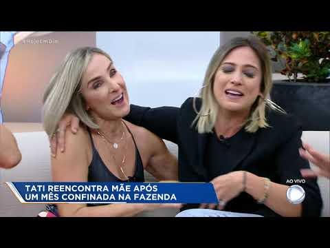 Hoje em Dia promove reencontro entre Tati Dias e sua mãe thumbnail