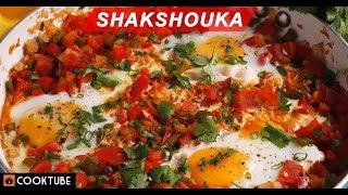 Shakshouka Recipe | Healthy Breakfast Recipe | Poached Eggs In Tomato Sauce
