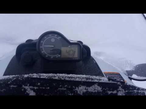 Тест драйв снегохода ямаха викинг профессионал