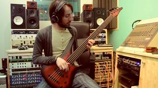 Solitude - COVER Alain Caron - MANNE ACOUSTIBASS FRETLESS 5 - played by Salvatore Marra