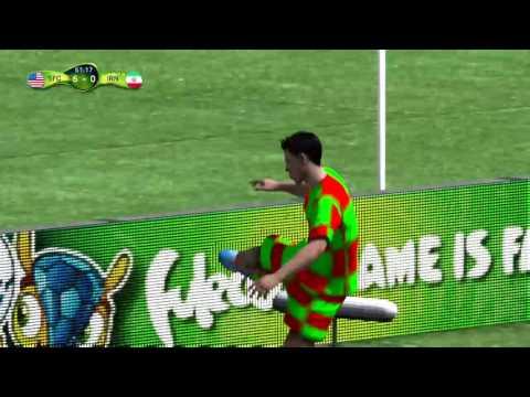 Fifa 14 Rodriguez second goal vs Iran!