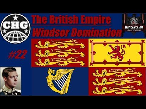 HOI4: Führerreich - British Empire Finale - God Save The God-King